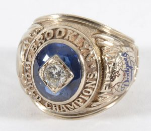 Brooklyn Dodgers 1955 World Series ring
