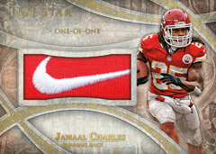 Relic Card 2014 Topps Five Star Jamaal Charles