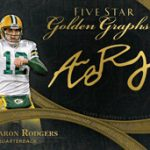 Aaron Rodgers 2014 Topps 5-Star Golden Greats