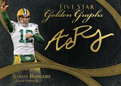 Aaron Rodgers 2014 Topps 5-Star Golden Greats