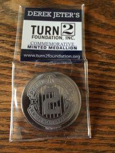Derek Jeter Day coin