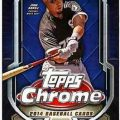 Topps Chrome 2014 baseball box
