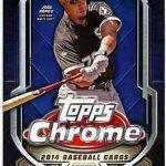 Topps Chrome 2014 baseball box