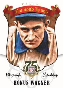 Honus Wagner Diamond Kings 2014 Panini Hall of Fame