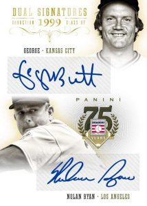 Signatures George Brett Nolan Ryan