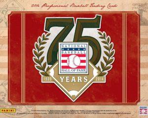 Baseball Hall of Fame 75 Years Panini