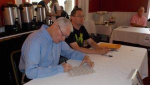 Jim Bunning signing