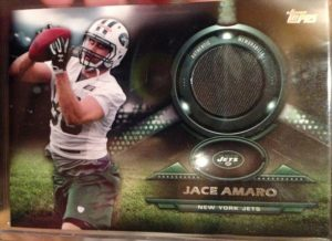 2014 Topps relic Jace Amaro