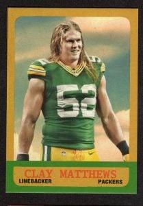 2014 Topps Clay Matthews 1963 mini
