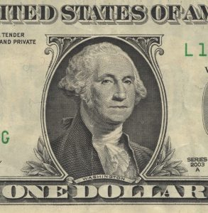 Classing example of an engraving: The US$1 bill.
