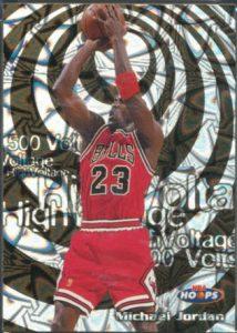 1997-98 NBA Hoops High Voltage Michael Jordan #14HV