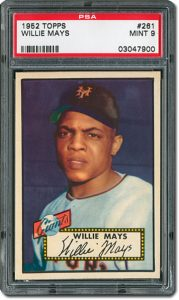 1952 Topps Willie Mays