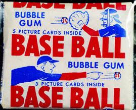 1950 Bowman Baseball pack