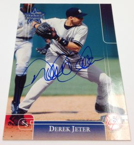 Signed Derek Jeter Panini buyback