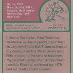Paul Rudd Topps card