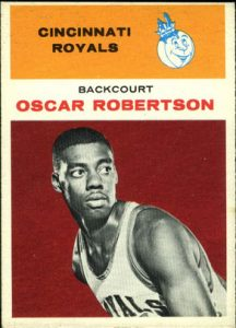 1961-62 Fleer Oscar Robertson