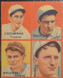 1935 Goudey Cochrane-Gehringer