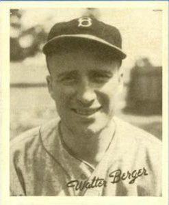 Wally Berger 1936 Goudey