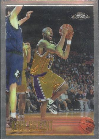 1996-97 Topps Chrome Basketball Kobe Bryant