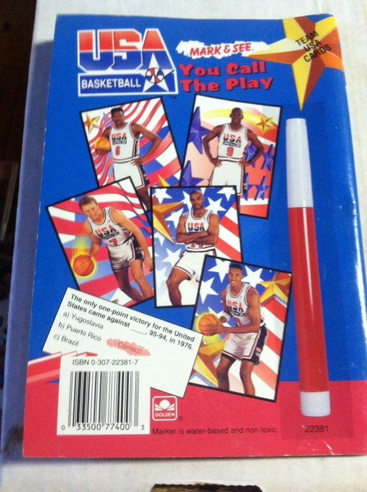 1991-92 Skybox Mark and See Michael Jordan Dream Team Basketball