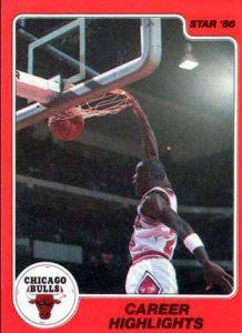 Michael Jordan Rookie Card - 1986 Star Company