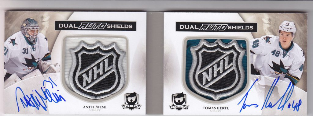 2013-14 The Cup auto shields