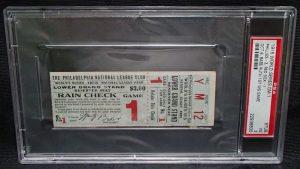 World Series 1915 ticket stub
