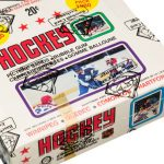 Unopened 1979-80 OPC hockey card box