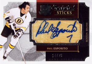 Scripted Sticks Phil Esposito 2013-14 The Cup