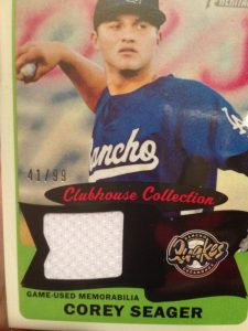 2014 Topps Heritage Minors Corey Seager Clubhouse Collection