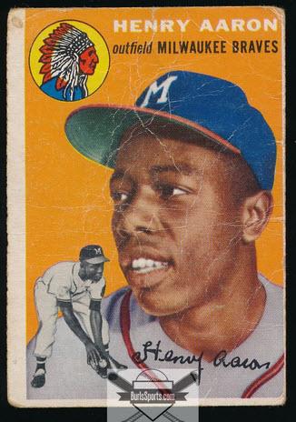 Hank Aaron Rookie Card Fair