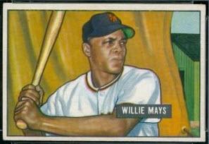1951 Bowman Willie Mays