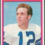 Roger Staubach 1972 Topps rookie card