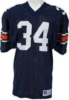 Game worn Bo Jackson Auburn jersey