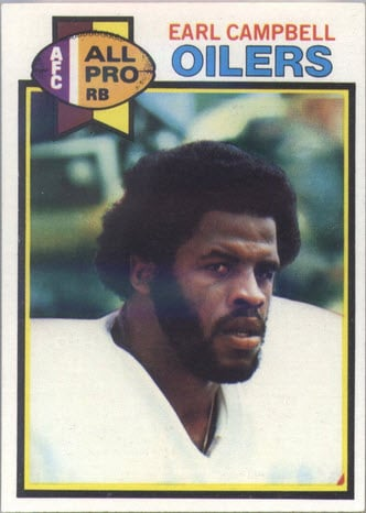 Earl Campbell 1979 Topps