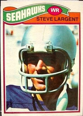 Steve Largent 1977 Topps