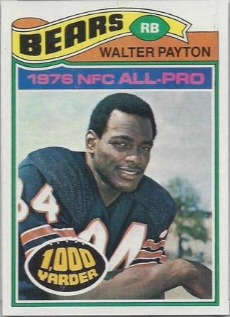 Walter Payton 1977 Topps