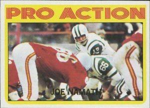 Joe Namath in Action 1972