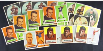 Football cards 1950s