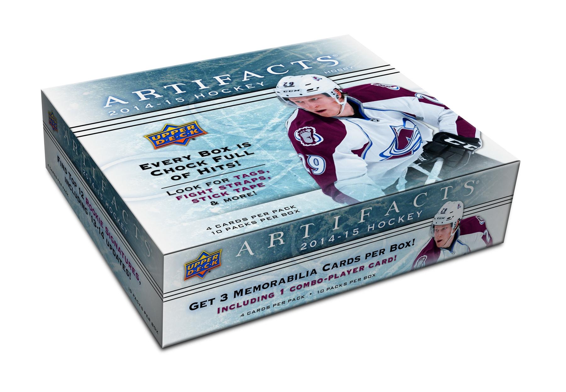 2014-15 Upper Deck Artifacts Hockey box