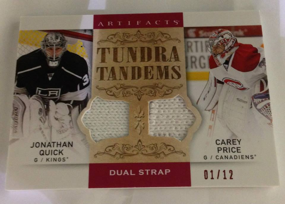 Upper Deck Artifacts 2014-15 Tundra Tandems