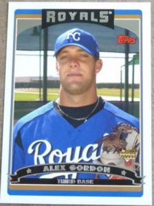 Alex Gordon rookie card Topps