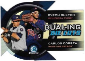 Dueling Die Cut 2014 Bowman Chrome