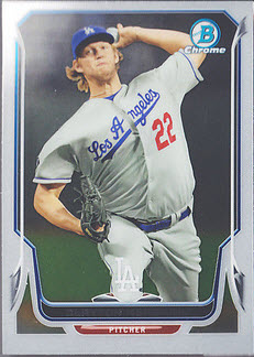 2014 Bowman Chrome Kershaw