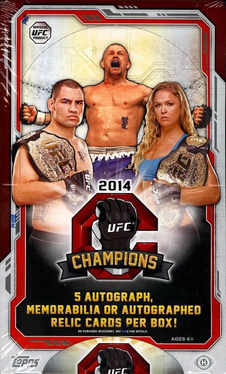 2014 UFC Champions box