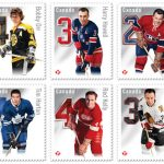 NHL hockey stamps Canada Post