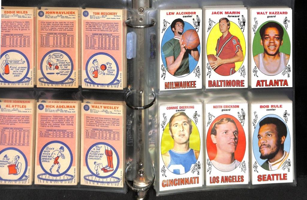 Topps 1969-70 Basketball set