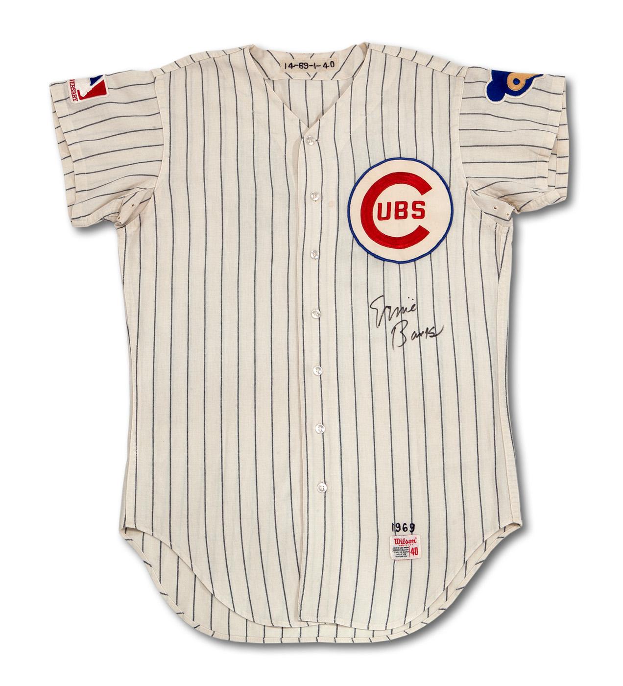 1969 Ernie Banks Cubs jersey
