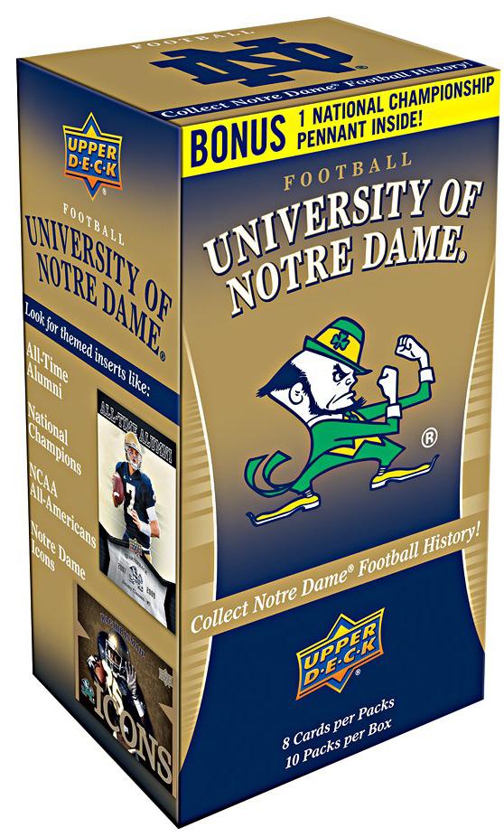 Upper Deck Notre Dame box