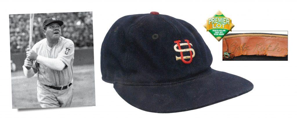 1934 Babe Ruth Tour of Japan cap